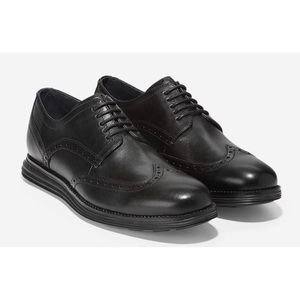 NWT! Men's Cole Haan Lunar Grand Wing Tip Oxfords